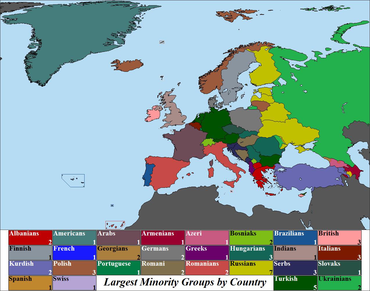 europes largest minority essay