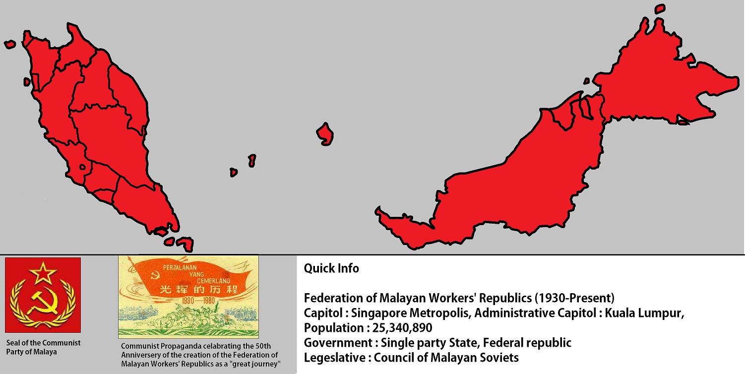 communism in malaya