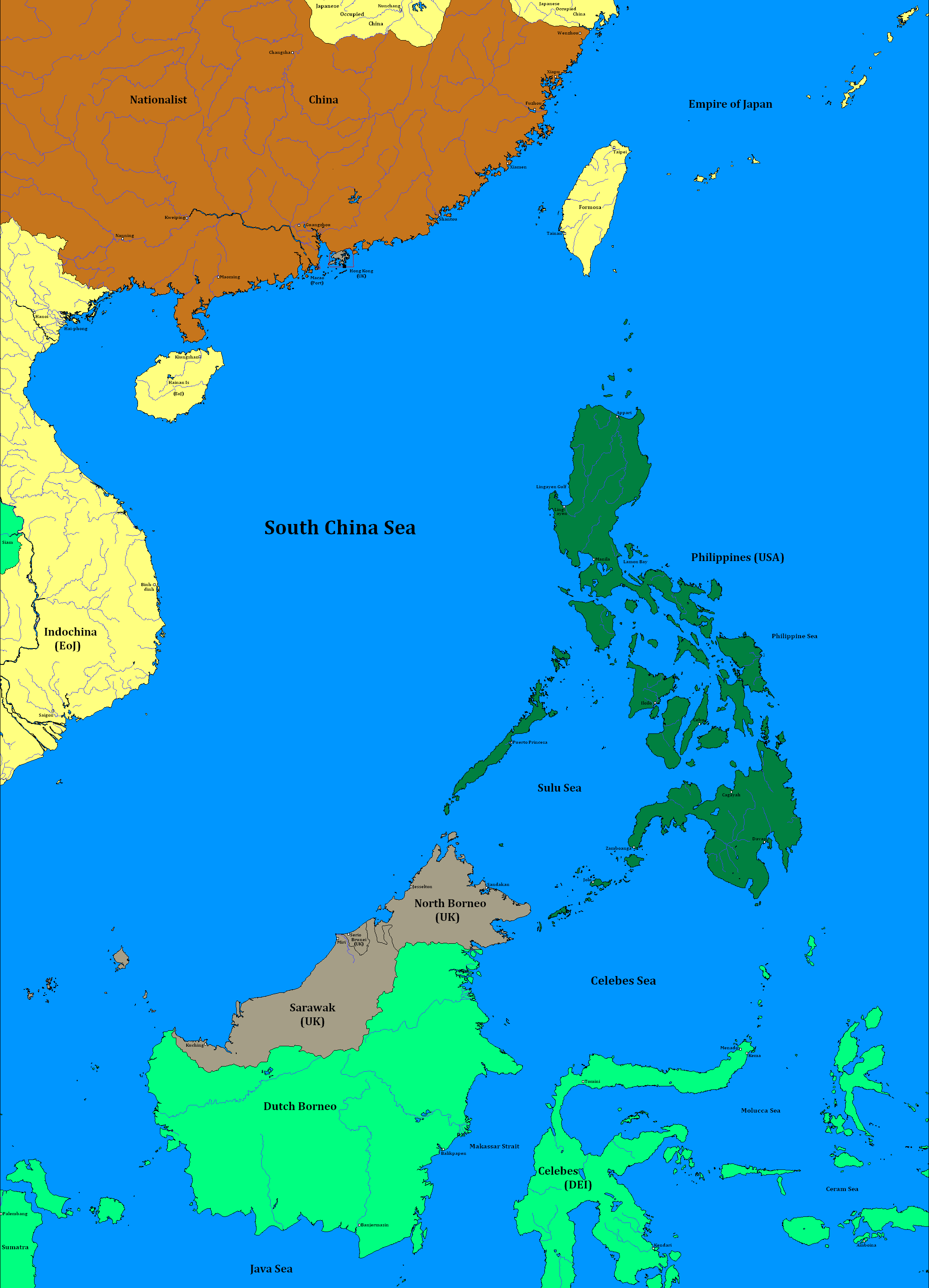 Pacific War Redux | Page 15 | Alternate History Discussion