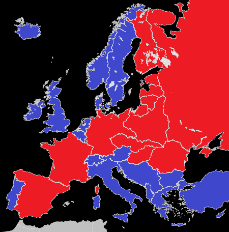 Post Ww2 Map Of Europe.Map Challenge Alternative Post Wwii Europe Alternate History