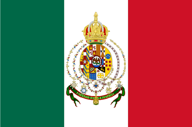 Mexican Empire Flag.png