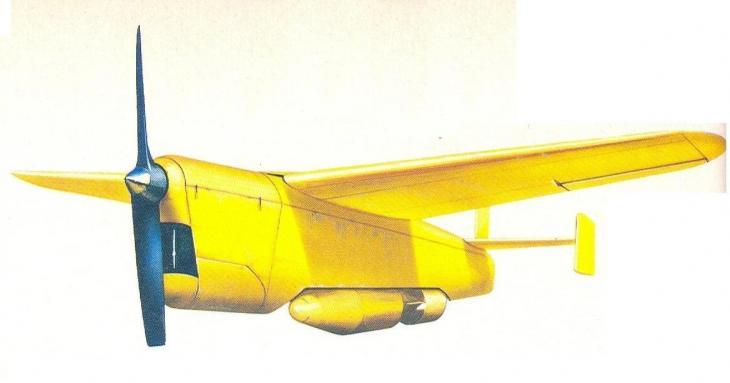 Miles Hoopla (Flying Bomb).JPG