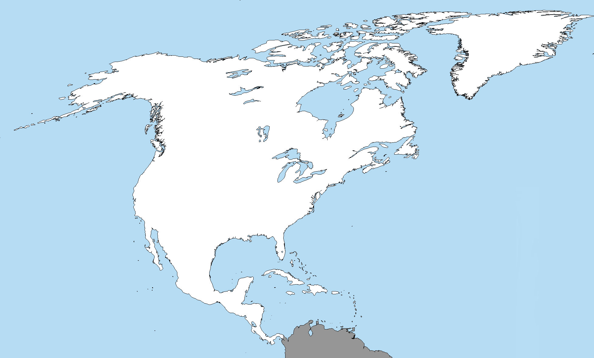 Map Continuation Xiii Z New Europe North America Alternate