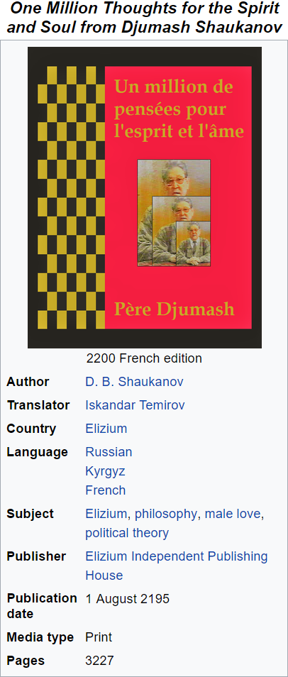 Alternate Wikipedia Infoboxes IV (Do not post Current