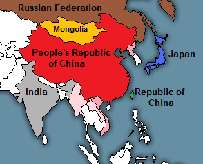 Map Challenge: Best Partition of China 1800 2008 | Alternate