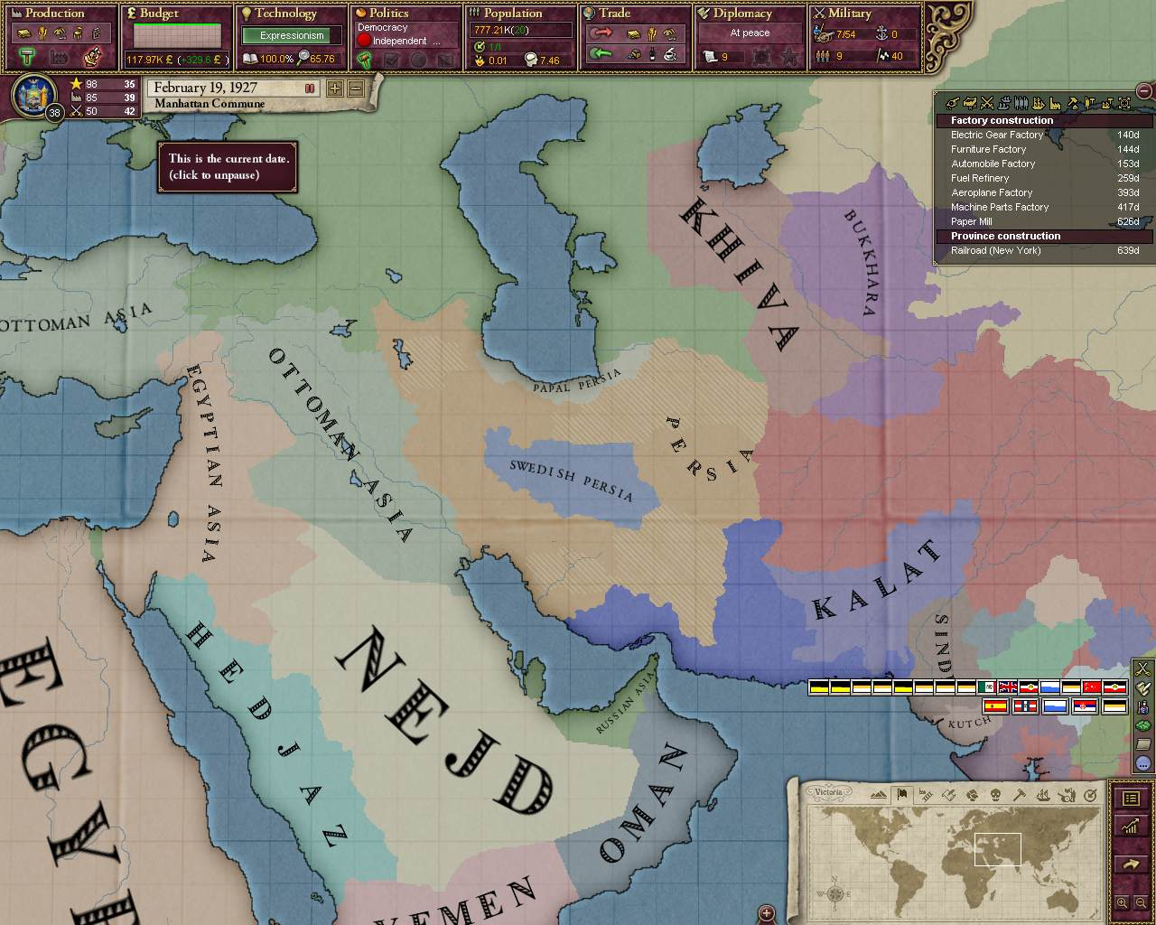Victoria 2 Alternate History
