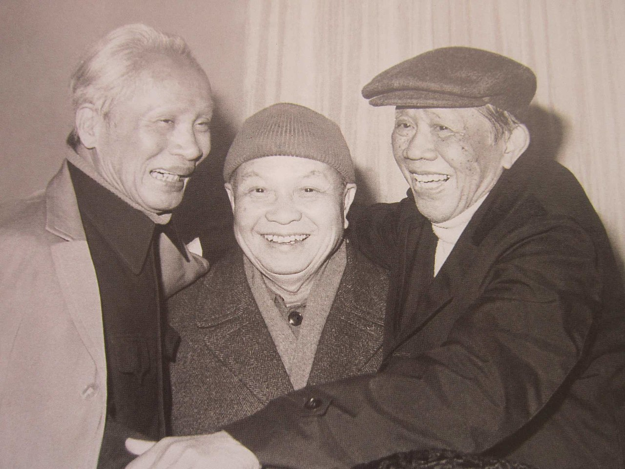 Pham Van Dong, Troung Chinh, and Le Duan left to right.jpg