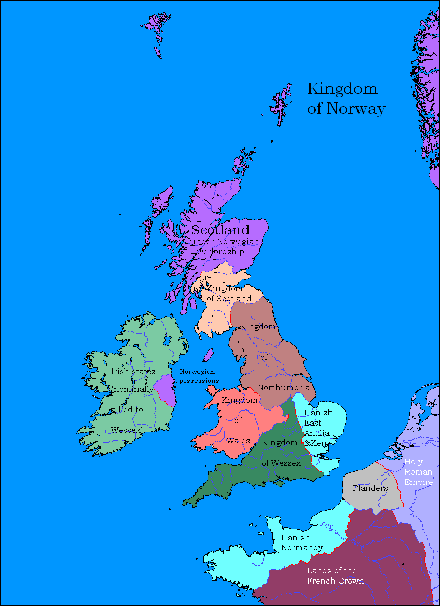 Northumbria wins the Battle of...