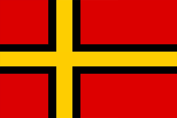 The Flag of the Solentian Social Republic