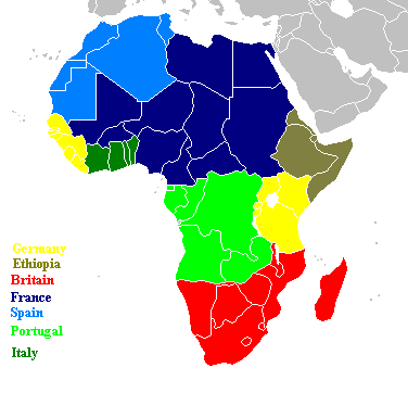 AH Map challenge: Different Scramble for Africa | Alternate