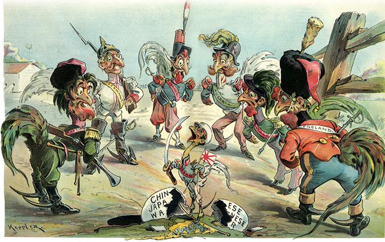 european influence on japan china essay