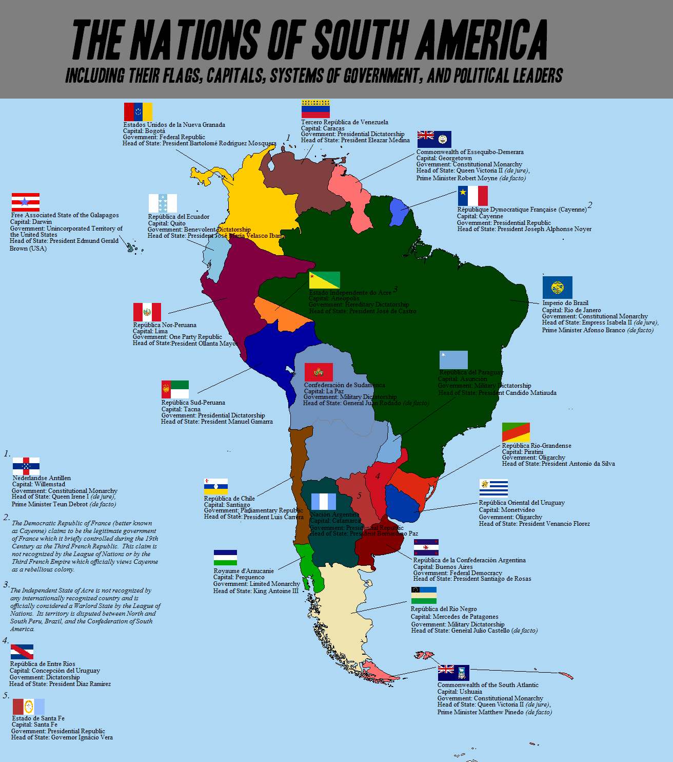 Map Thread X Page Alternate History Discussion - Federative republic of brazil map