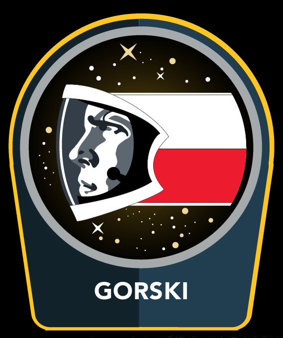 Stellonaut Gorski mission patch.png