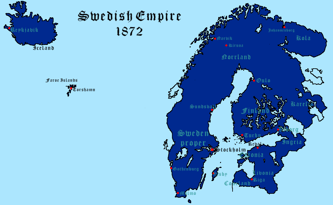 Map Thread VI Page Alternate History Discussion - Sweden map history