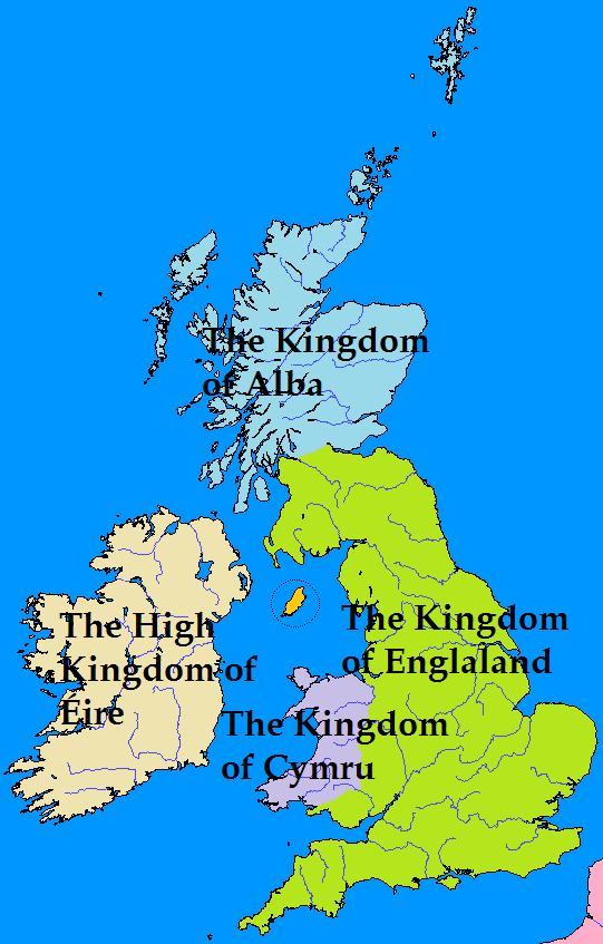 Map Of England Kingdoms.Map Challenge The Four Kingdoms Of The British Isles