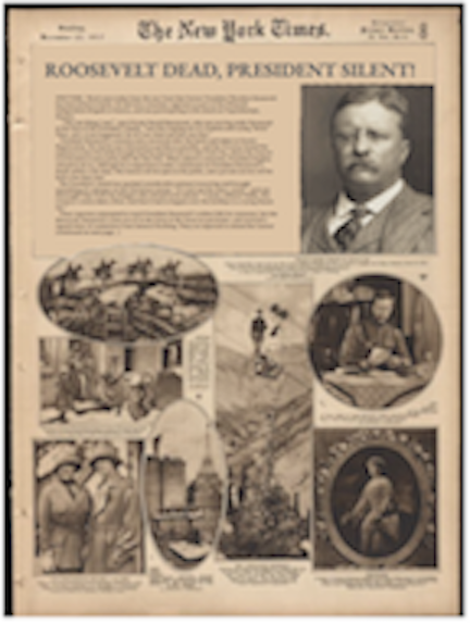 Theodore Roosevelt death article.png