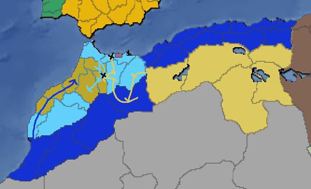 Third Sardinian-Moroccan War army movements.png