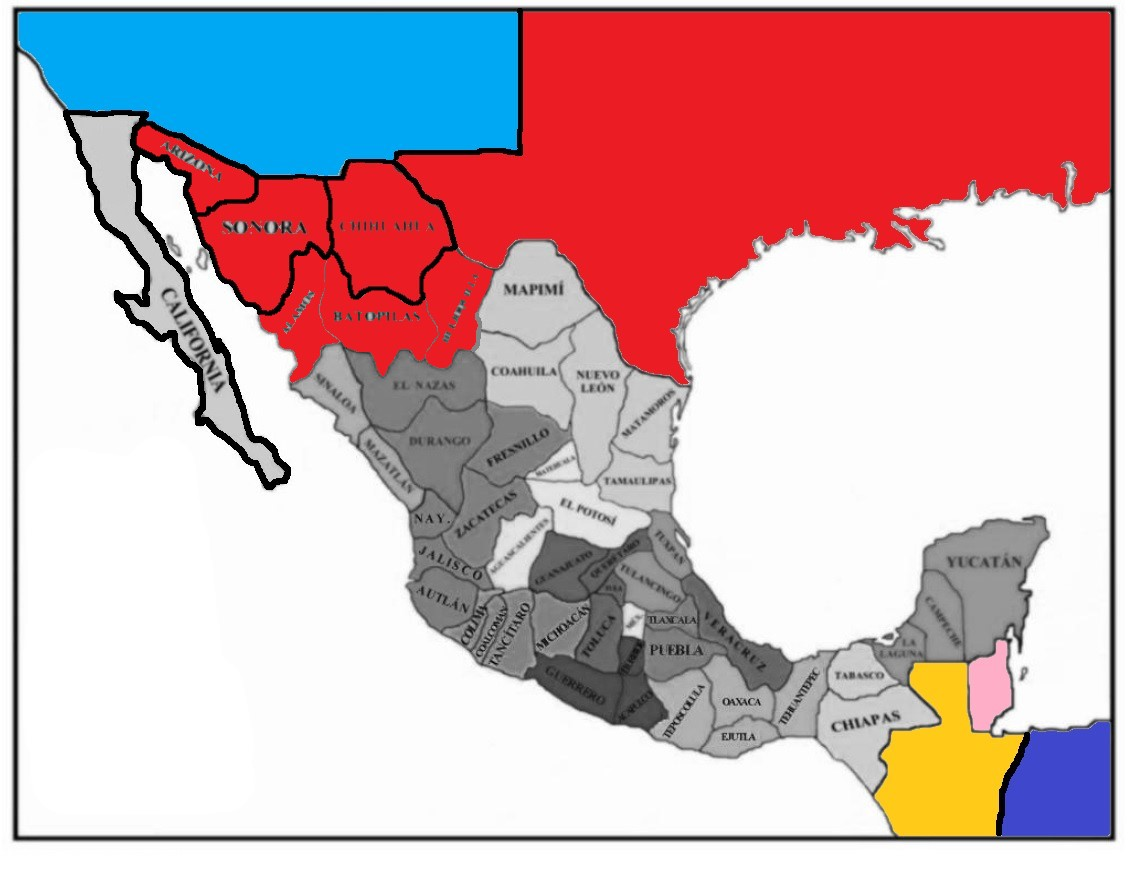 TL-191 Map of Mexico turtledove version.jpg