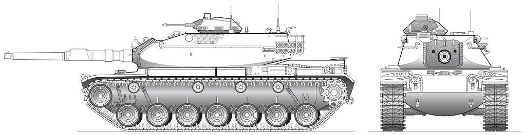 TL-191 MBT Morrel  -- M60A1.png