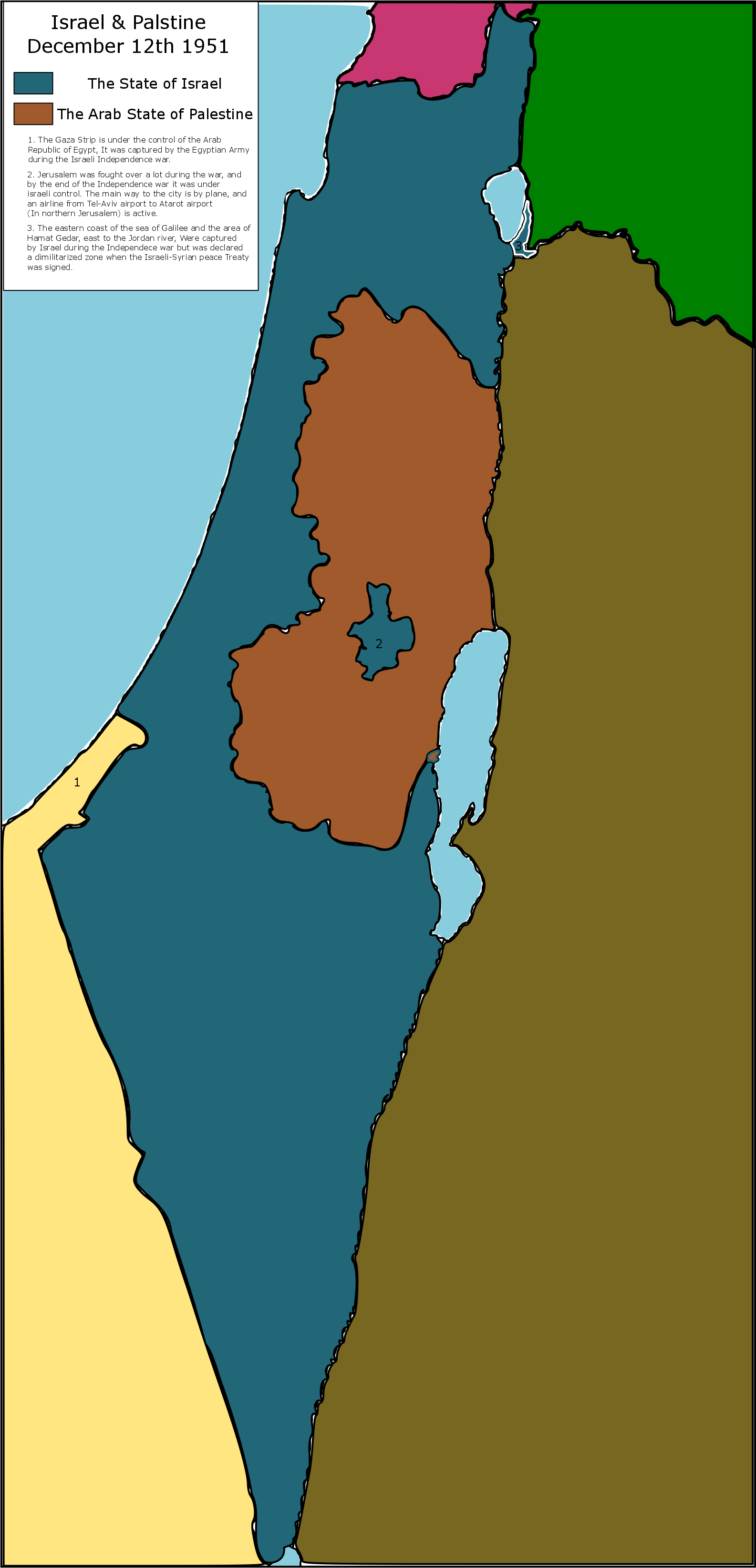 Map thread xiv page 457 alternate history discussion later that year on december 10th a small no strings attached peace treaty was signed between israel and syria gumiabroncs Choice Image