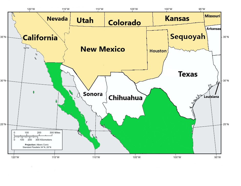 Turtledove's version of Southwestern USA in TL-191 After FGW.jpg