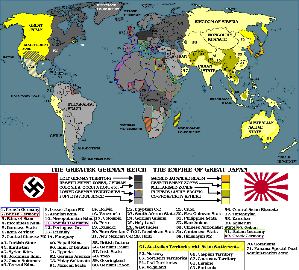 Map Thread VI Page Alternate History Discussion - Dystopian us map