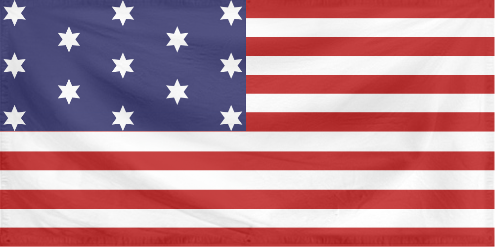 U.S. Flag 0 (Flag of the 13 Colonies - 13 stars).png