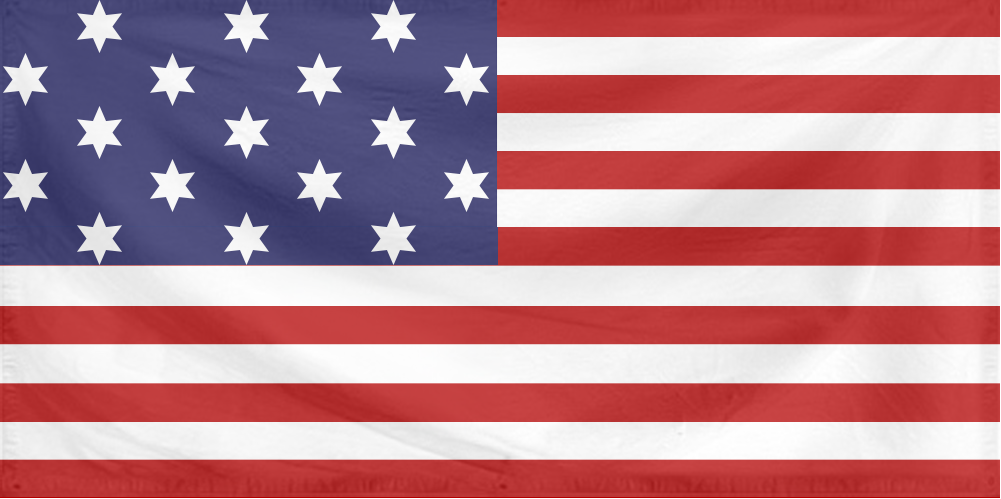 U.S. Flag 1 (Flag of the Confederation - 17 stars).png