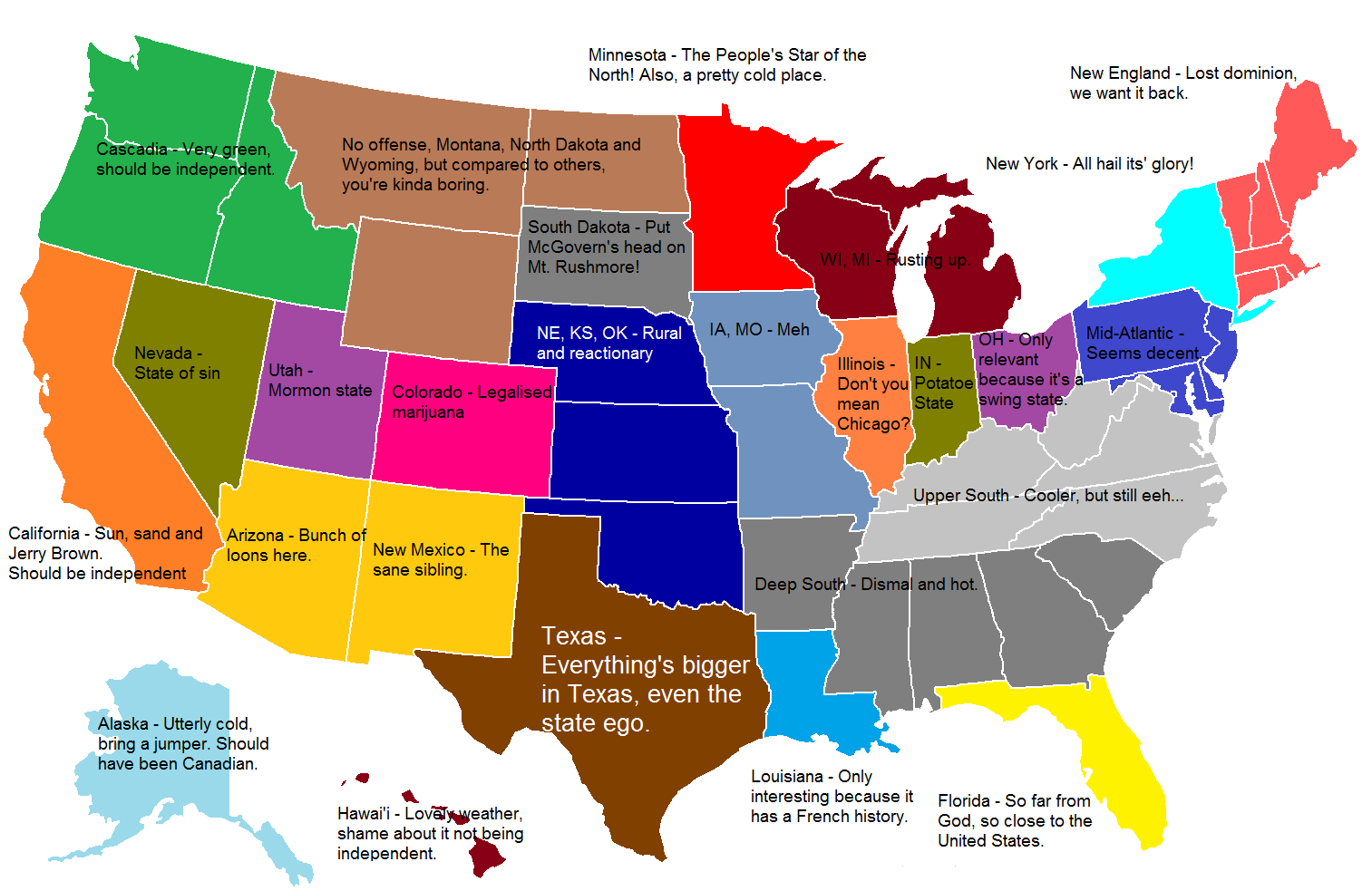 Map Thread XIV Page  Alternate History Discussion - Map of united states states only