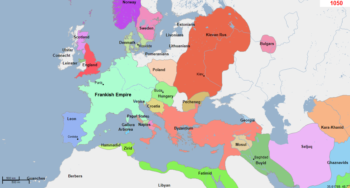 Cordoba Map Middle East