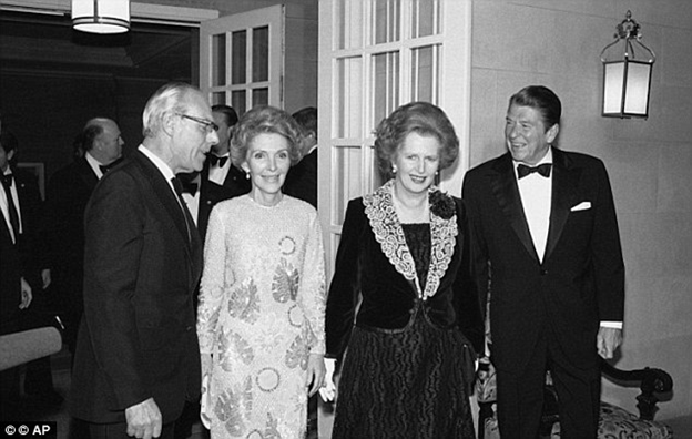 margaret thatcher and ronald reagan Ronald reagan and margaret thatcher: a political marriage is a sentimental journey through the years reagan and thatcher pursued their vision of conservatism and worked together to end the cold war.