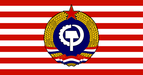 Would a Communist America change its flag? | Alternate