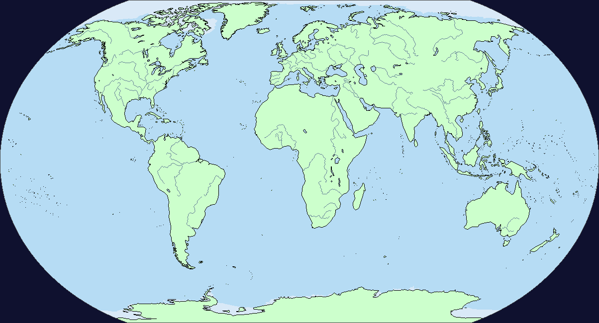 A Blank Map Thread Page Alternate History Discussion - World map and rivers
