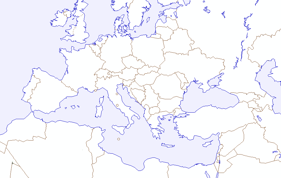 Pics Photos - Blank Maps All Of Europe Maps Vol 1