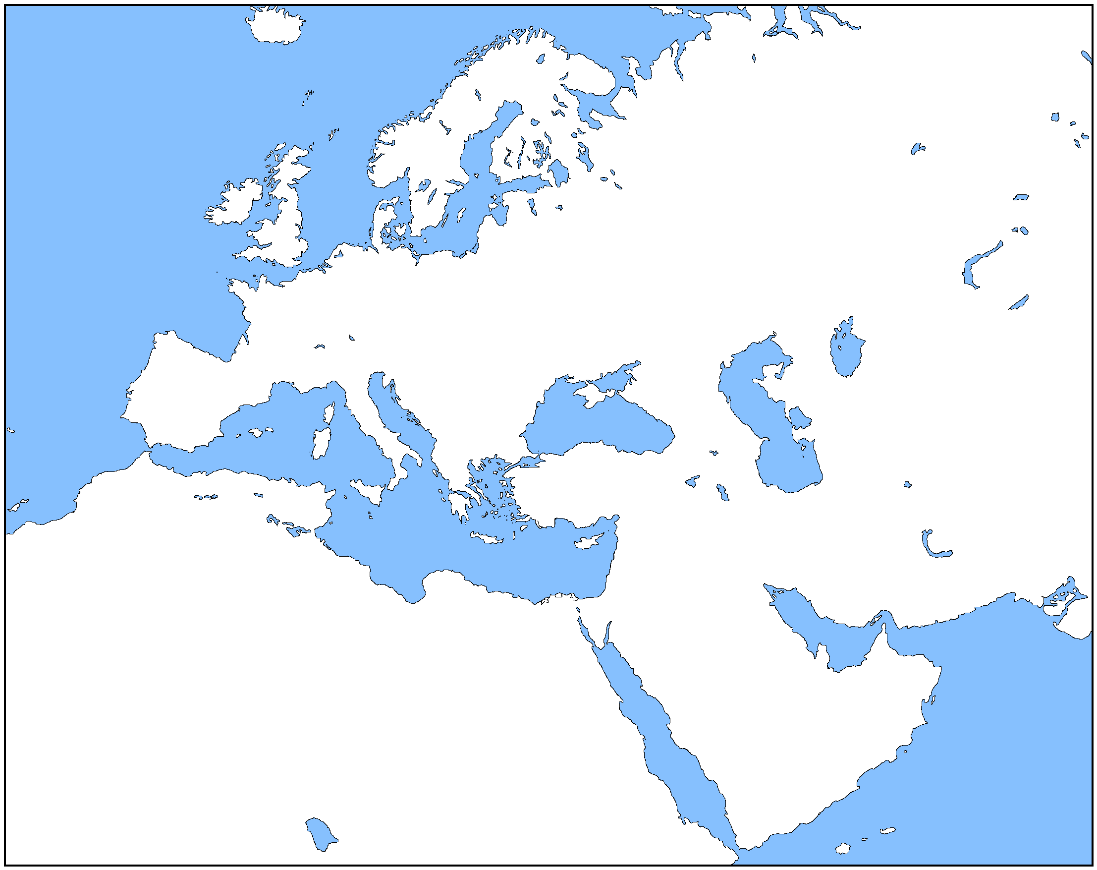 Map Of Europe Blank No Borders.Blank Map Directory All Of Europe 2 Alternatehistory Com Wiki