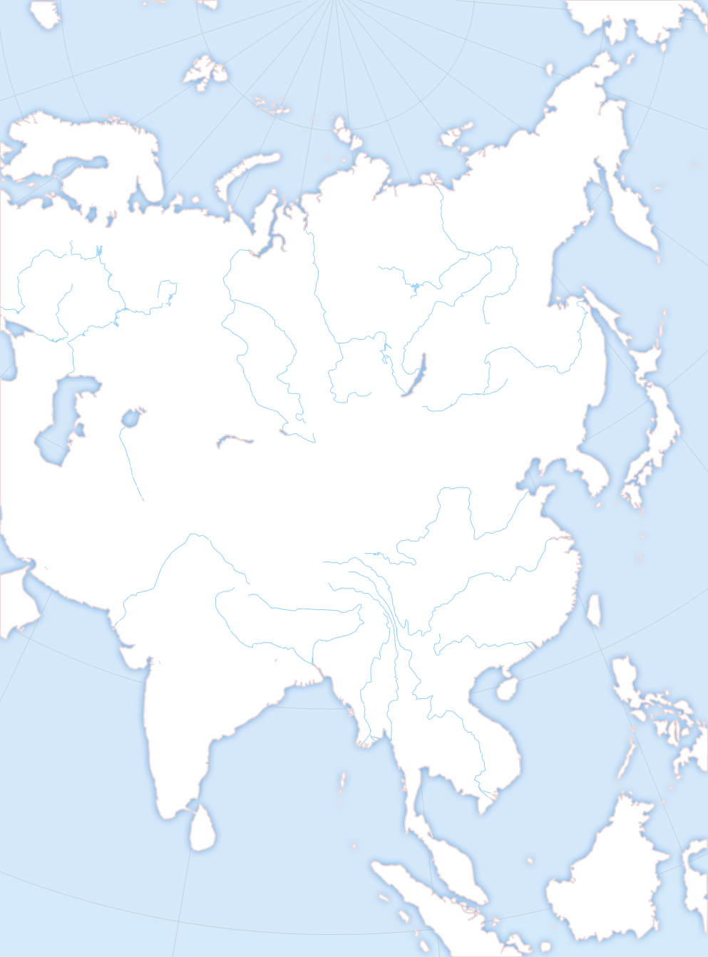 blank map directory all of asia wiki