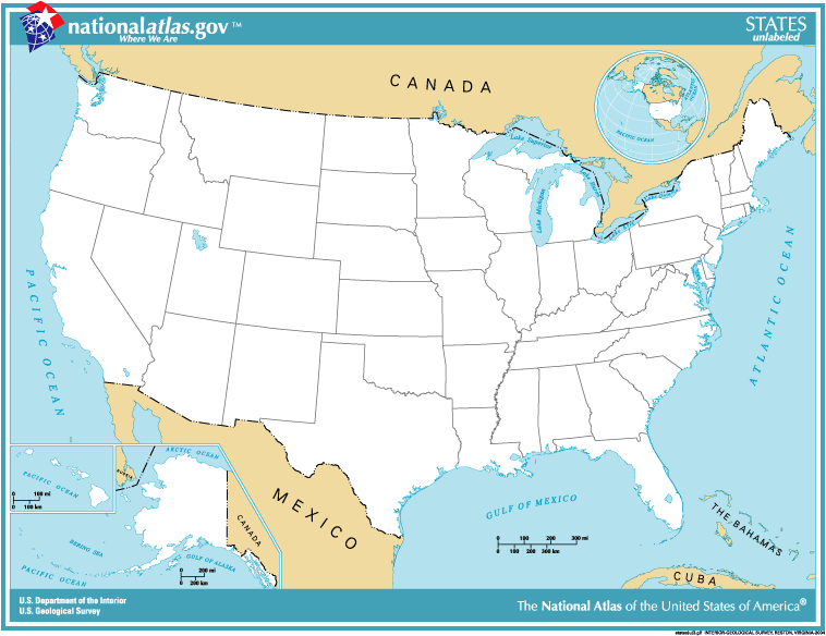 Map Of Usa Borders – Map United States and Mexico