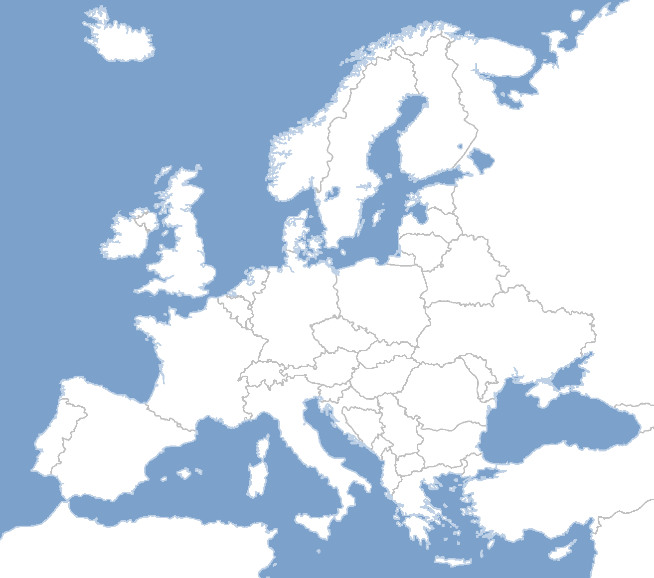 Blank Map Directory All Of Europe 2 Alternatehistory Com Wiki