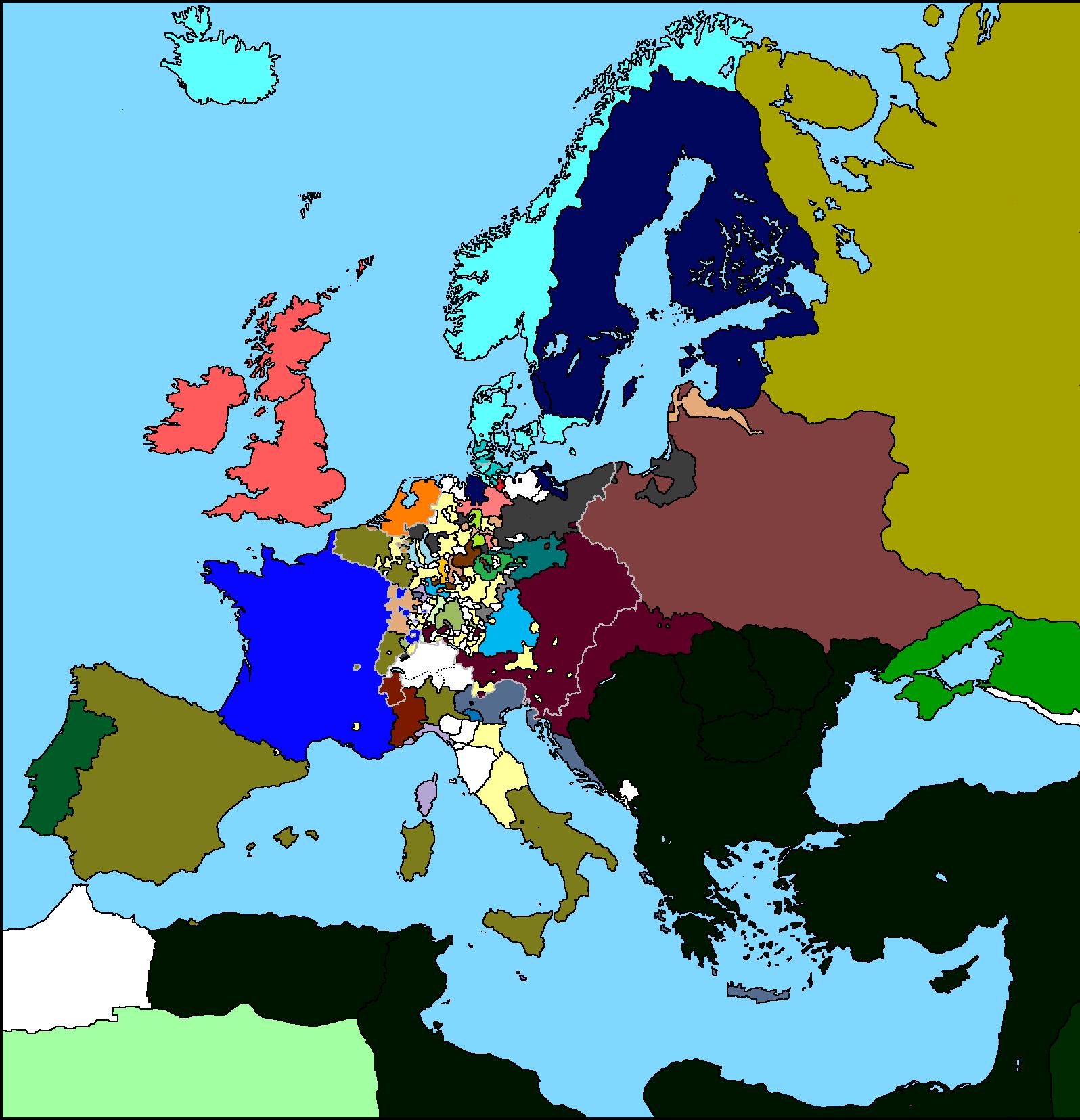 Europe Maps By Valdemar II