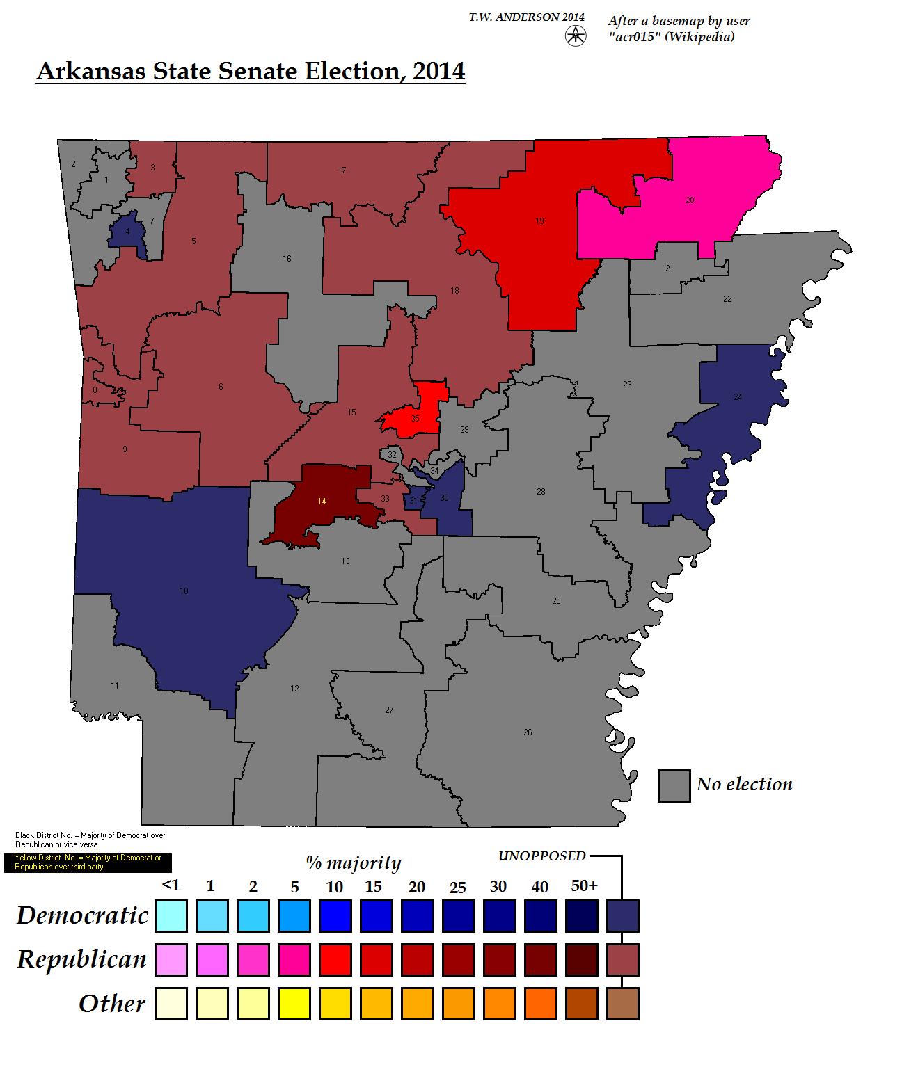 Arkansas State Senate Election 2014