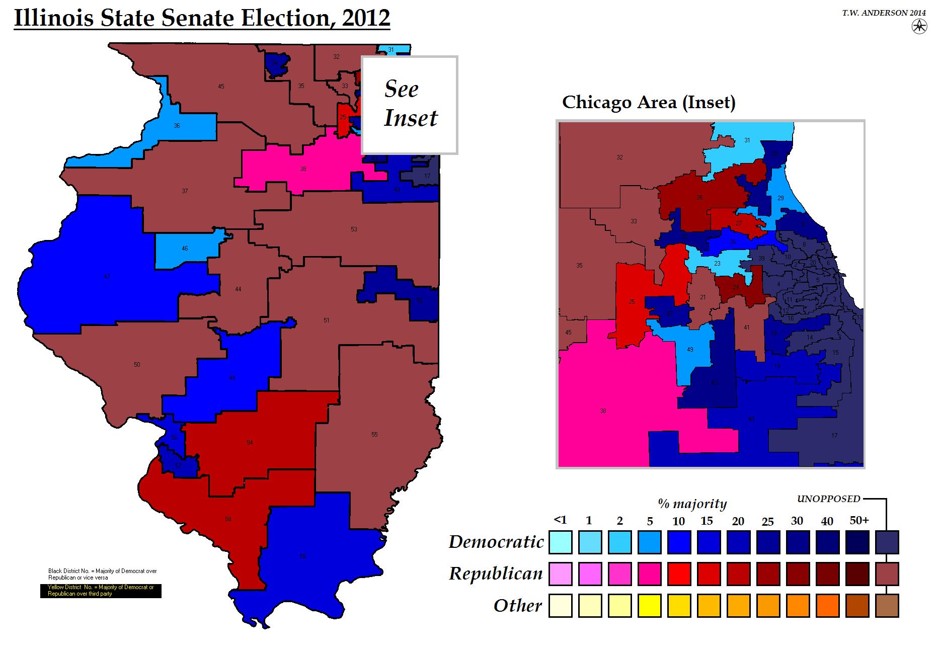 Illinois State Senate Election 2012