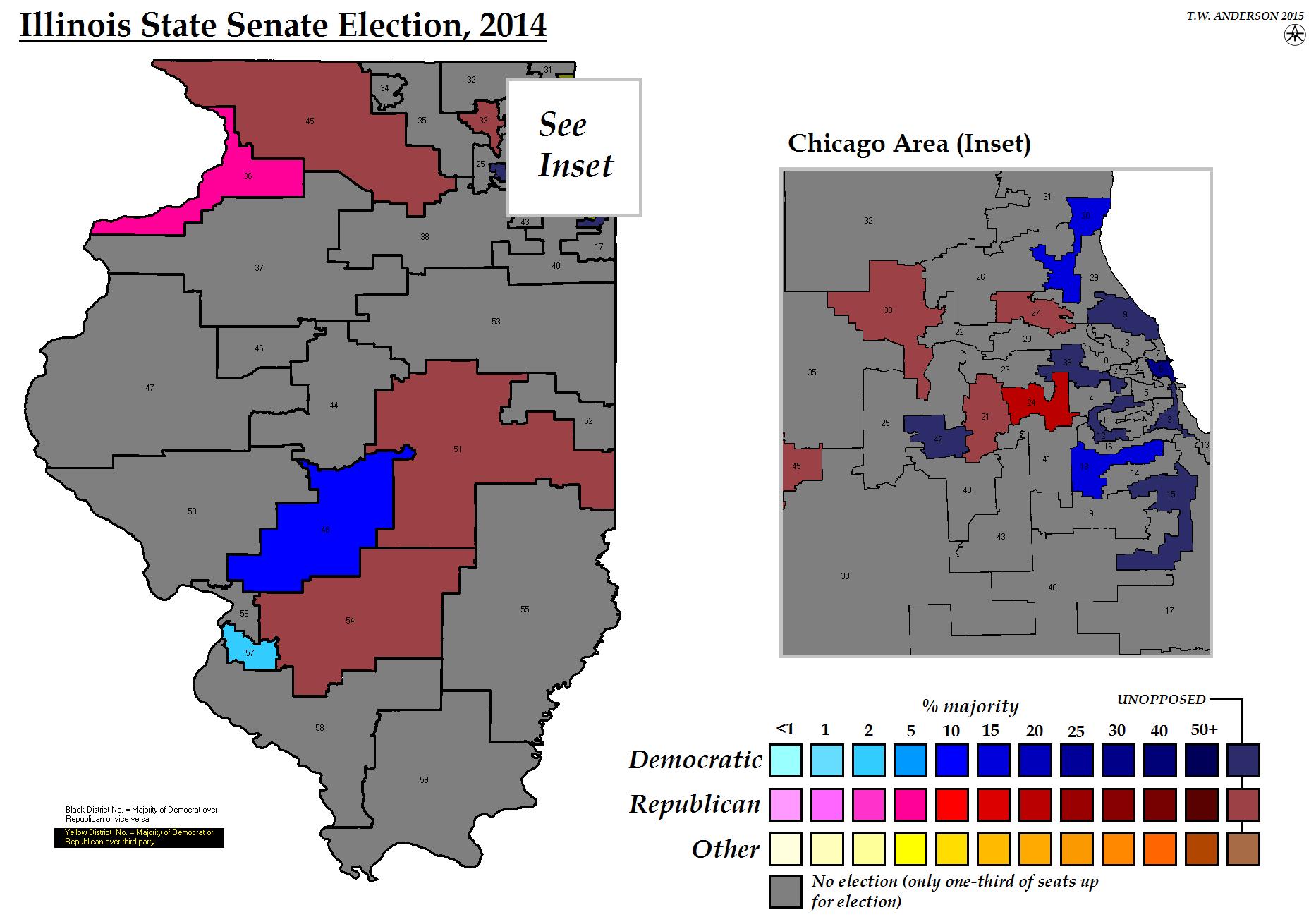 Illinois State Senate Election 2014