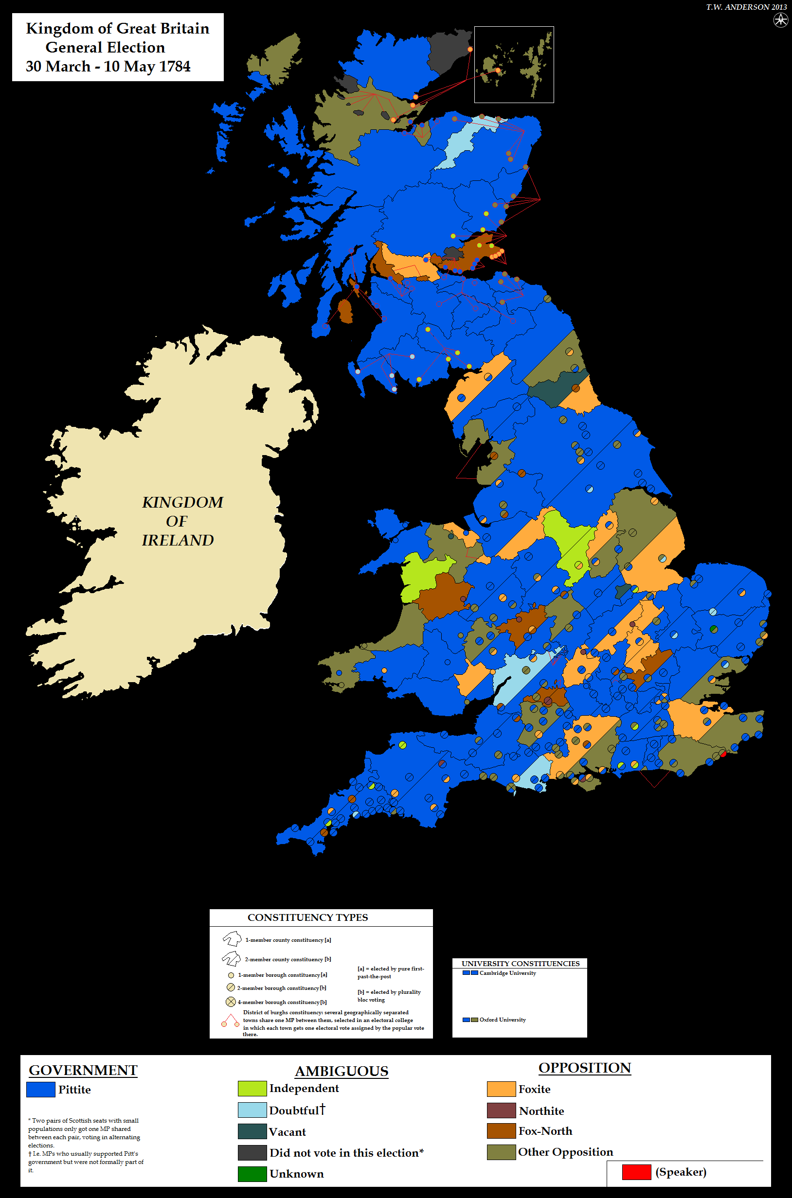 alternatehistory.com wikiUK General Election Maps
