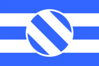 Round 6 winner: Icelandic flag (with modern, stylised Ansuz rune) by Rubberduck3y6