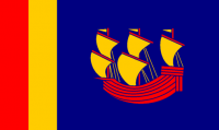 Round 3 winner: Red-Yellow-and-Blue Carolina Flag by Rubberduck3y6