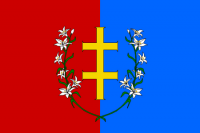 Round 5 winner: St. Casimir & Vytis flag of a Polish-Lithuanian Commonwealth republic by Lord Grattan