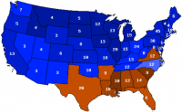 1920 Presidential Election Map